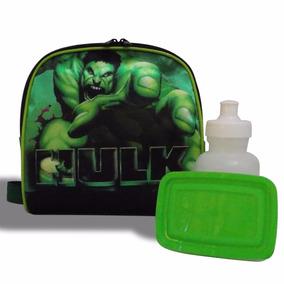 Lancheira Térmica Infantil Hulk Vingadores - Pronta Entrega!