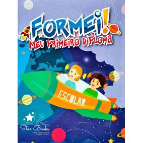 Kit Minha Formatura Educacao Infantil Com 12 Unidades