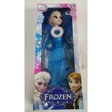 Muñeca Frozen Anna O Elsa Canta 28cm Articulada