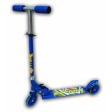 Skate Scooter Pro - Monopatín Aluminio Plegable Y Regulable