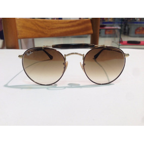 Óculos De Sol Ray Ban Round Caçador Rb 3747 9008/51