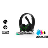 Auricular Pc Headset Eurocase Lima Microfono 3.5mm Mini Plug