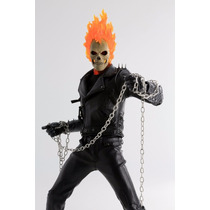 Motoqueiro Fantasma Ghost Rider 1/6 Hot Toys Enterbay Marvel