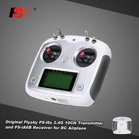 Radio Controle Flysky Fs-i6s 10 Canais 2.4ghz Com Receptor