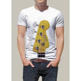 Camiseta Rock, Fender, Baixo, Bandas R$ 45,00
