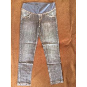Calça Jeans Com Elastano Para Gestantes - Little Sheep