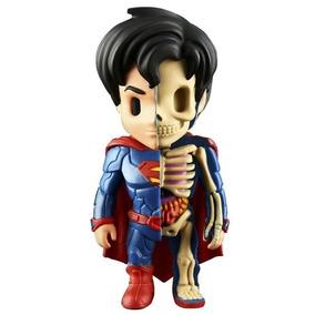 Mighty Jaxx Dc Comics Justice League Xxray Super Homem E Lim