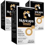 Nutricaps Testo ( 3x60cps ) Maxinutri - Original