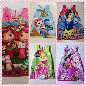 Vestidos Princesas Disney Frozen Moana Y Mas