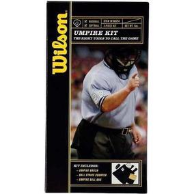 Kit Wilson Umpire Accesorios Necesarios Para Arbitro Beisbol