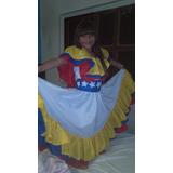 Vestido Folklorico De Venezuela