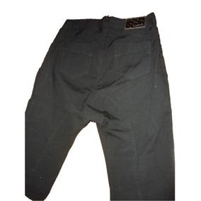 Pantalon Pescador Negro Pañalero