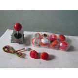 Palanca Sanwa Original, Kit Arcade, Joystick, Botones