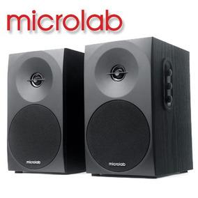 Par De Monitores 2.0ch Microlab B-70 C/ 20watts Rms - 110v