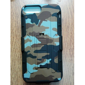 Clio Combo Rudo Militar Cafe Camuflaje Iphone 6 Plus 7 Plus