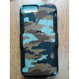 Clio Combo Rudo Militar Cafe Camuflaje Iphone 6 Plus 7 Plus