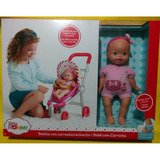 Little Mommy Bebita Con Carreola