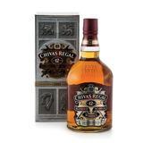 Whisky Chivas Regal 12 Años Litro 1000ml Con Estuche