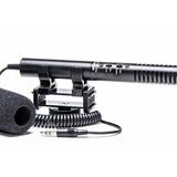 Microfone Shotgun Zoom Azden Sgm-990 Dslr