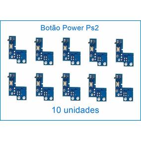 10 Botão Power Ps2 Liga/desliga Placa Reset Play2 900x 90010