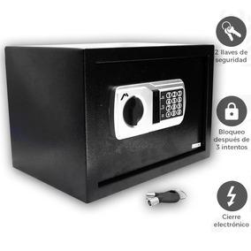 Caja Fuerte Electrónica De Seguridad Codigo Digital Y Llaves