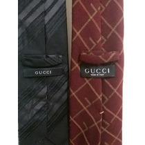 Corbatas Gucci Como Nuevas Super Elegantes