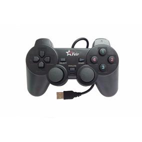 Controle Joystick Usb Pc Ps3 Computador Dualchock Analógico