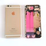 Carcaça Completa Iphone 6 4.7 Dourada Apple Original