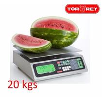 Bascula Comercial S/torreta 20kg Pcr-20 Torrey