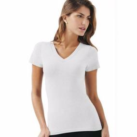 Baby Look Gola V Camiseta Feminina Básica Blusinha Algodão