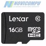 Micro Sd Lexar 16gb Clase 10