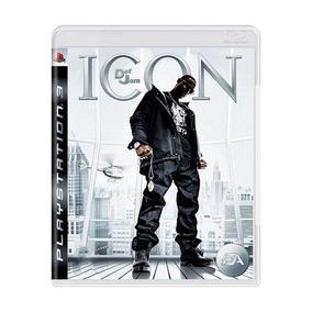 Jogo Def Jam: Icon - Ps3 Mídia Física Semi-novo