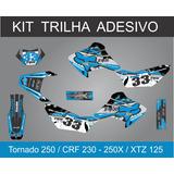 Kit Trilha 3m Gráfico Fox, Repsol, Alpinistar Xr 250 Tornado