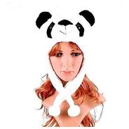 Touca Gorro Bichinhos Pelúcia Inverno Cosplay Urso Panda