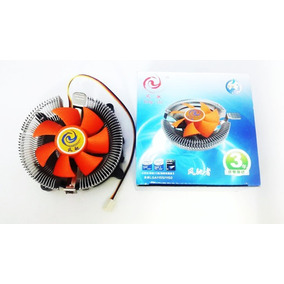 Fan Cooler Universal Intel Lga 775/1155/1156 Amd + Pasta T.