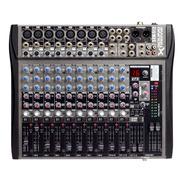 Mesa Consola 12 Canales Profesional 16 Efectos Digitales