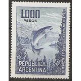 Argentina 971 Gj 1496 Pesca Ordinaria Sin Filig.