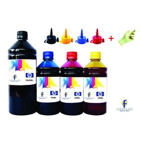 2500ml Refil Tinta Para Impressora Hp Pro 8100 8600 8610