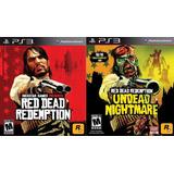 Red Dead Redemption + Undead Nightmare Collection Oferta Ya!