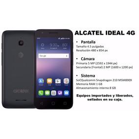 Telefono Alcateal Ideal, 1 Gb De Ram Y 8 Gb De Rom.