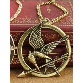 Colar Tordo Jogos Vorazes Hunger Games ( Frete R$12,00)