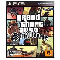 Gta San Andreas - Jogo Original Ps3 - Codigo Psn Classico