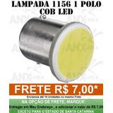 Lampada 1156 1 Polo Cob Led P/ Ré - Placa Celta E Corsa
