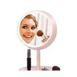 Espejo De Baño Woosky Maquillaje Lámpara De Mesa Espejo Con