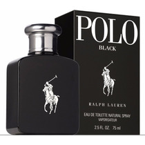 Perfume Ralph Lauren Polo Black Edt 75ml Masculino Original