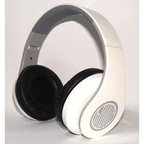 Fone De Ouvido Bluetooth Mp3/sd/fm Recarregavel Branco