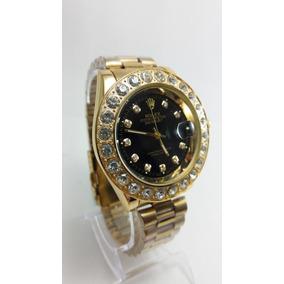 Relógio Masculino/feminino Rlx Barato Com Pedras