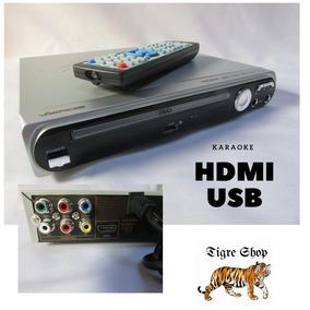 Dvd Musica Mp3 Fotos Saida Hdmi Usb Karaoke Nf +garantia