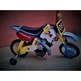 Moto Yamaha Bateria Electrica Para Niño (a) Nuevo