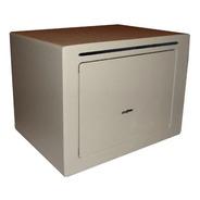 Caja Fuerte Abulonar Con Buzón 17x23x17 Llave Base Alfombra